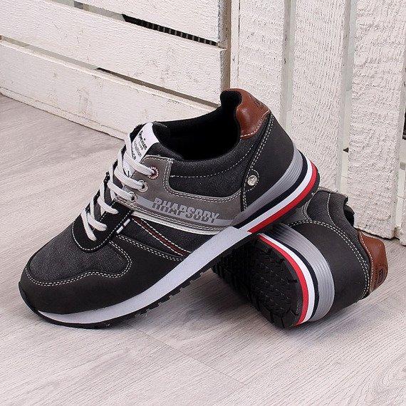 Buty sportowe czarne American Club