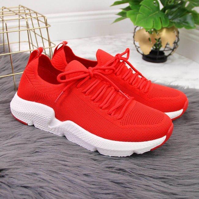 Buty sportowe czerwone Big Star DD274580