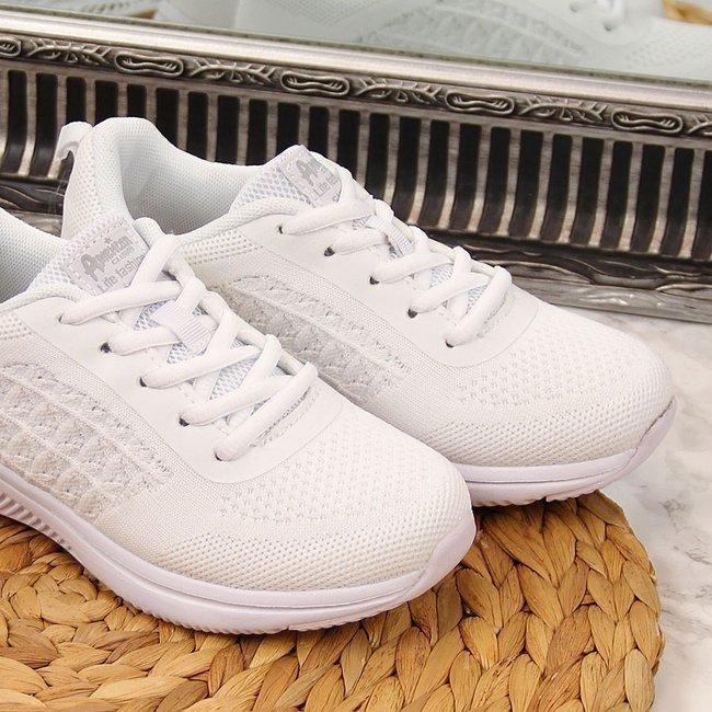 Buty sportowe dziewczęce białe American Club
