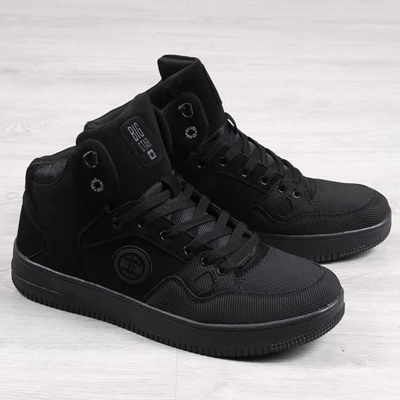 Buty sportowe męskie czarne Big Star EE174433