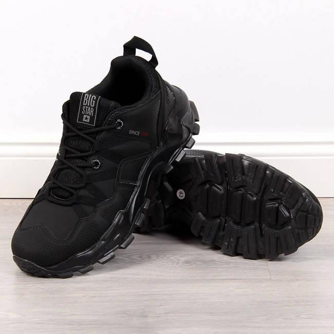 Buty sportowe męskie czarne Big Star II174113