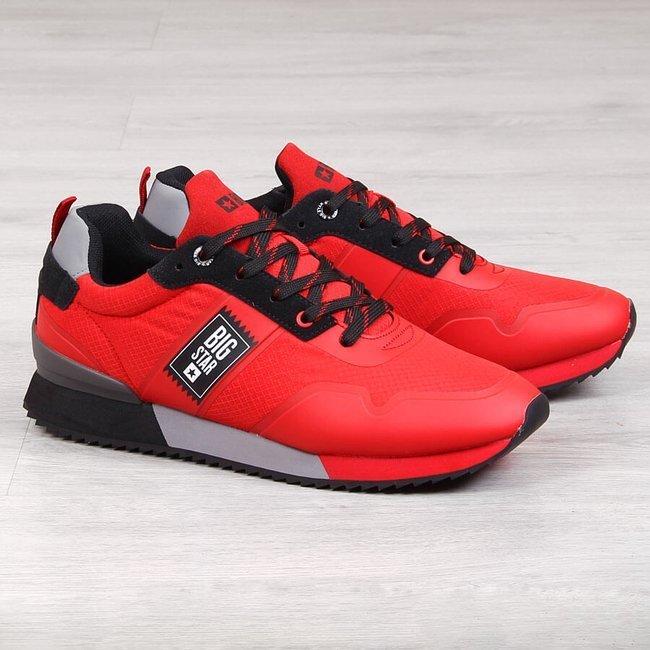 Buty sportowe męskie czerwone Big Star GG174183
