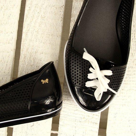 Czarne tenisówki meliski zapachowe ZAXY W285044