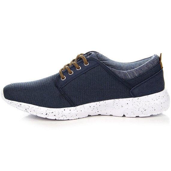 Granatowe buty męskie sportowe Wishot