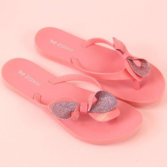 3680341559363 Klapki damskie japonki gumowe różowe ZAXY Fresh Trip 21999 za ...