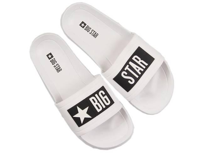 Klapki dziecięce basenowe białe Big Star DD374151
