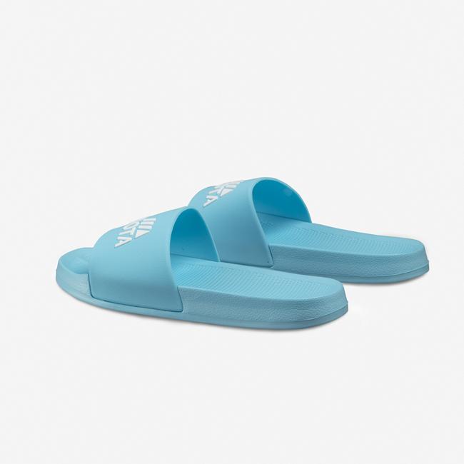 Klapki plażowe basenowe basic niebieskie Kubota