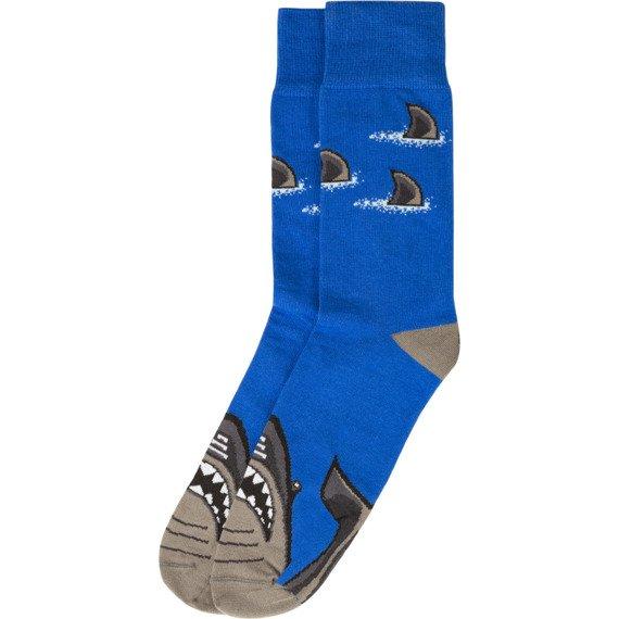 Skarpety niebieskie Gruba Ryba Bobby Sox