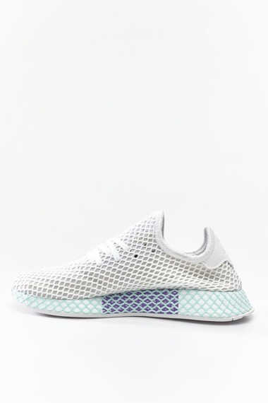 Sneakersy białe Adidas Deerupt Runner W CG6089