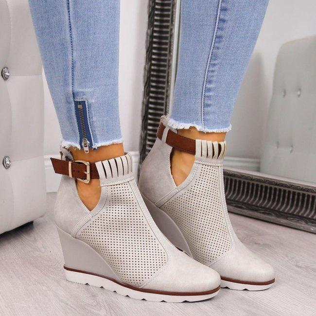 Sneakersy Na Koturnie Damskie Tanie Buty Online Butyraj Pl