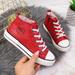 Trampki dziecięce eko skóra czerwone Big Star II374005